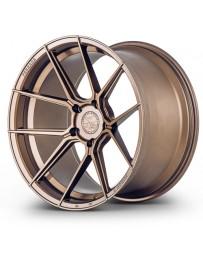 Ferrada F8-FR8 Matte Bronze 20x12 Bolt : 5x112 Offset : +33 Hub Size : 66.6 Backspace : 7.8