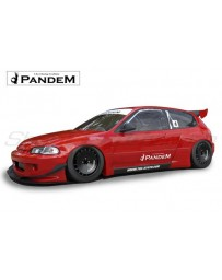 Honda Civic (EG) Ver. 1 & Ver. 1.5 Pandem Complete Widebody Aero Kit