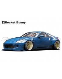 Nissan 350Z (Z33) Rocket Bunny V2 Complete Widebody Aero Kit with Wing