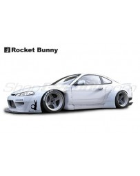 Nissan Silvia (S15) Rocket Bunny V2 Complete Widebody Aero Kit with Wing