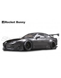 "Nissan 240SX / 180SX (RPS13) Rocket Bunny 380 Complete Widebody Aero Kit with ""ducktail"" Wing (no GT Wing)"