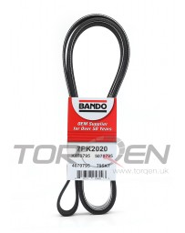 350z DE Bando Belt, A/C Pulley for Stock Crank Pulley