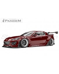 "Mazda RX8 (SE3P) - Pandem Complete Widebody Aero Kit with no GT Wing (includes rear ""ducktail"" wing)"
