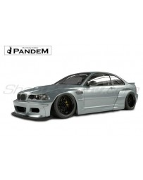 BMW M3 (E46) Pandem Complete Widebody Aero Kit