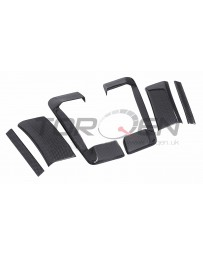 350z EVO-R Carbon Fiber Door Handle Cover Set