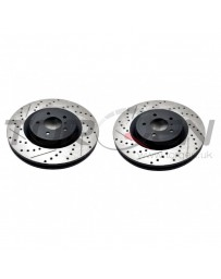 Juke Nismo RS 2014+ StopTech Discs - Rear pair - SLOTTED & DRILLED
