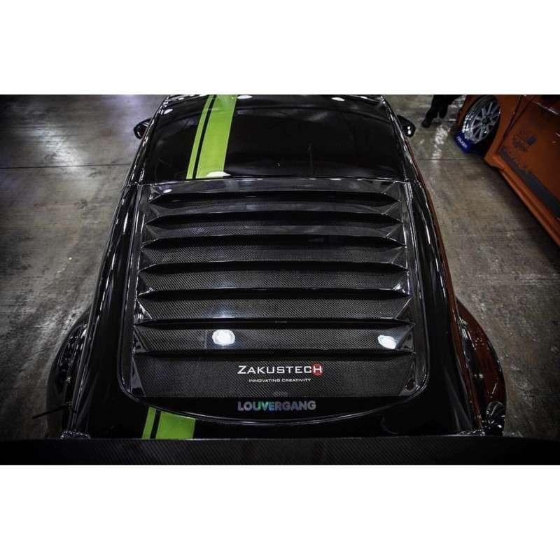370z Fly1 Motorsports Zakustech Carbon Fibre Louvers