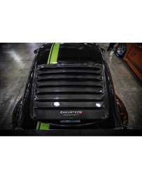 350z Fly1 Motorsports Zakustech Carbon Fibre Louvers