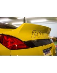 350z Mercury Z Project GT3 Rear Spoiler Wing