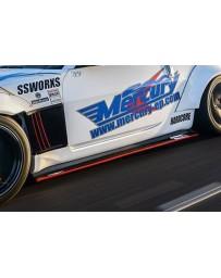 350z Mercury Z Project GT3 Side Diffuser