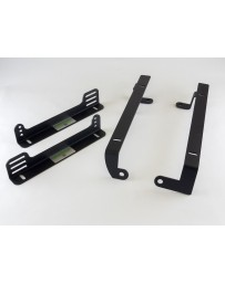 Planted Seat Bracket - NISSAN 300ZX (1990-1996) LOW - Passenger / LEFT *FOR SIDE MOUNT SEATS ONLY*