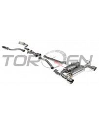 G35 Invidia Gemini Catback Exhaust System, Rolled Stainless Steel Tip