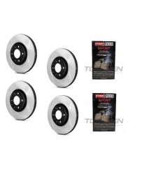 350z Centric Premium High Carbon Brake Discs and Sport pads for Brembo brakes - BLANK