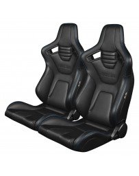 BRAUM ELITE-X SERIES RACING SEATS (BLUE STITCHING) – PAIR