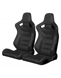 BRAUM ELITE SERIES RACING SEATS (CHARCOAL GRAY) – PAIR