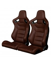 BRAUM ELITE SERIES RACING SEATS (BROWN) – PAIR