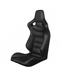 BRAUM ELITE SERIES RACING SEAT – BLACK STITCHING [FIXED BACK]