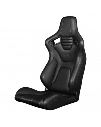 BRAUM ELITE-X SERIES RACING SEAT – BLACK STITCHING [FIXED BACK]