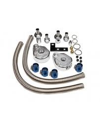 "Nissan GT-R R35 GReddy Oil Filter Relocation Kit - 3/4"" x 16 UNF Fitting"