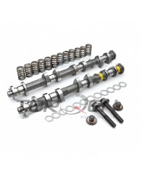 370z Jim Wolf Technology JWT Complete Exhaust Camshaft Kit with Springs & Deep Threaded Bolts, C2 271 Deg / .461""