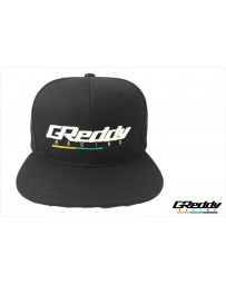 GReddy Racing Team Snap-Back Cap - Black