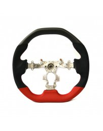 Nissan GT-R R35 DCTMS Sportive Flat Top Matte Carbon Flat Bottom Steering Wheel (Black Edition)
