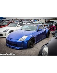 350z Crown Carbon Crafting 50mm over fenders (FRONT ONLY)