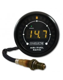 Nissan GT-R R35 Innovate Motorsports 3844 MTX-L Air / Fuel Ratio Gauge Kit with O² Sensor, All in One - 8ft Cable