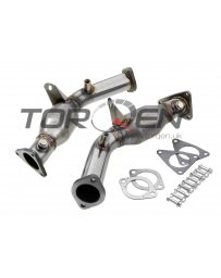 370z Berk Technology Metallic Substrate High Flow Cat