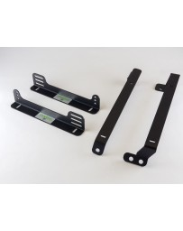 Planted Seat Bracket - NISSAN 240SX (1989-1998) LOW - LEFT *FOR SIDE MOUNT SEATS ONLY*