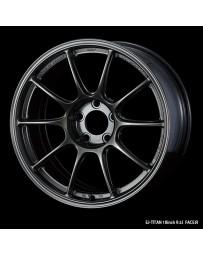 WedsSport TC-105X 18x9.5 5x114.3 ET10 Wheel- Titanium