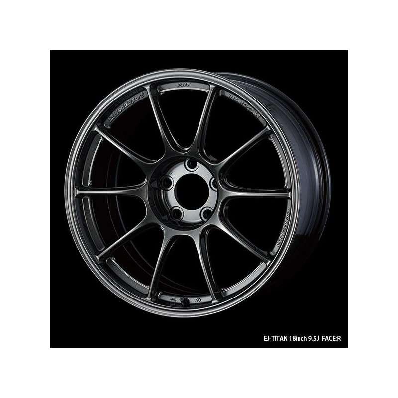 WedsSport TC-105X 18x9 5x114.3 ET32 Wheel- Titanium