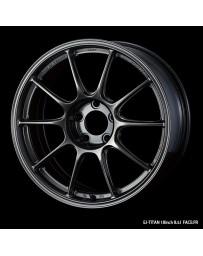 WedsSport TC-105X 18x8.5 5x114.3 ET43 Wheel- Titanium