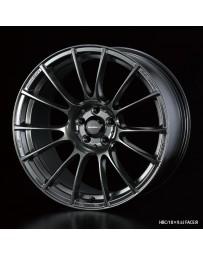 WedsSport SA-72R 18x10.5 5x114.3 ET25 Wheel- Hyper Black