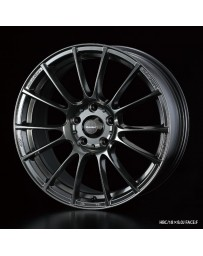WedsSport SA-72R 18x7.5 5x114.3 ET35 Wheel- Hyper Black