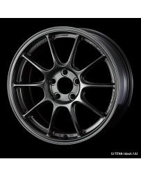 WedsSport TC-105X 16x7 4x100 ET36 Wheel- Titanium