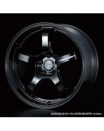 WedsSport RN-05M 19x10.5 5x114.3 ET22 Wheel- Gloss Black