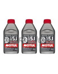 Nissan GT-R R35 Motul Dot 5.1 Synthetic Racing Brake / Clutch Fluid - 3 Pack