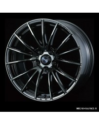 WedsSport SA-35R 18x9.5 5x100 ET45 Wheel- Weds Black Chrome