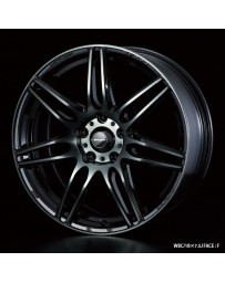 WedsSport SA-77R 18x8.5 5x100 ET45 Wheel- Weds Black Chrome