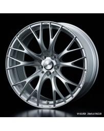 WedsSport SA-20R 19x8.5 5X114.3 ET38 Wheel- Silver