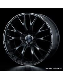 WedsSport SA-20R 20x8.5 5X114.3 ET38 Wheel- M-Black