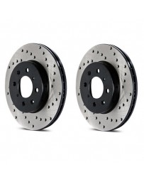 Toyota GT86 StopTech Cryo Discs - Rear pair - DRILLED