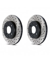 Toyota GT86 StopTech Cryo Discs - Front pair - DRILLED & SLOTTED