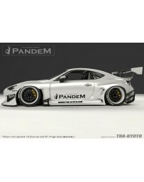 Toyota 86 / Subaru BRZ Pandem FRP V3 Wide-body Side Skirts
