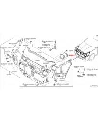 350z DE Nissan OEM Air Intake Duct