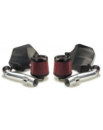 350z HR Stillen Generation 2 Twin Intake Kit Polished Long Tubes