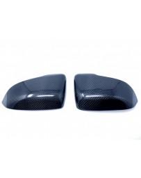 Toyota Supra 2020 MKV A90 EVO-R Carbon Mirrors - Covers