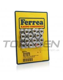 350z Ferrea Titanium Valve Retainer Set, Dual Spring