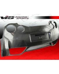 VIS Racing 2009-2015 Nissan Skyline R35 Gtr 2Dr Oem Style Carbon Fiber Rear Bumper